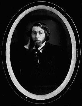 Fig. 3. Daguerreotype of Walt Whitman. New Orleans. February-May 1848. Walt Whitman Archive.